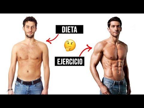 EJERCICIO vs DIETA  | ¿Qué es mejor para perder peso?