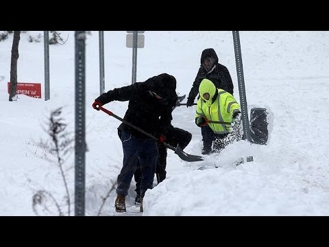 'Storm Stella' brings blizzards and disruption to US northeast