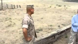 Former Drill Instructor scares the hell out of dude