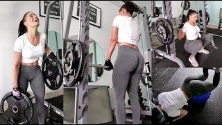 Super intense Leg Day, Weightlifting affects hormones? & A little advent calendar fun