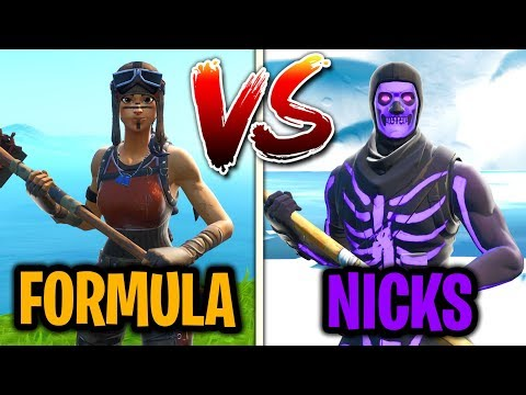 I challenged NICKS to 1v1 me in Fortnite creative mode... (WHO IS BETTER?)