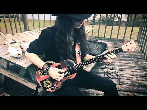 4-String Slow Blues Guitar Solo