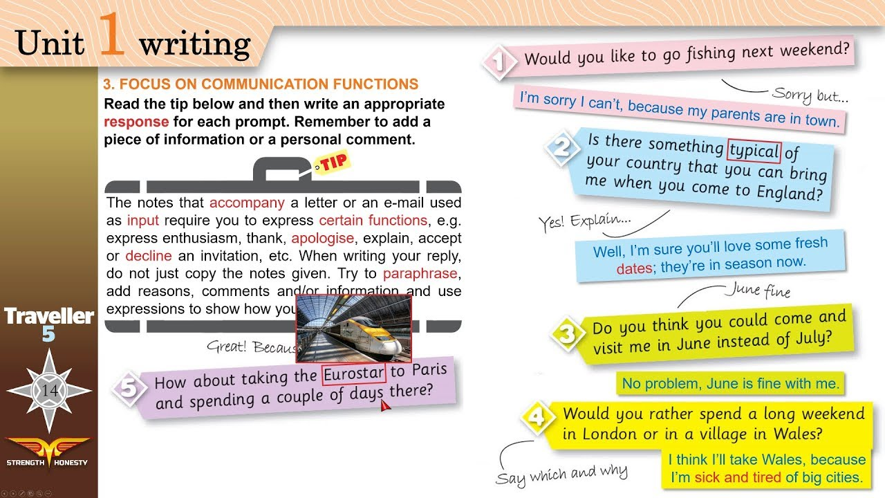 types of email writing