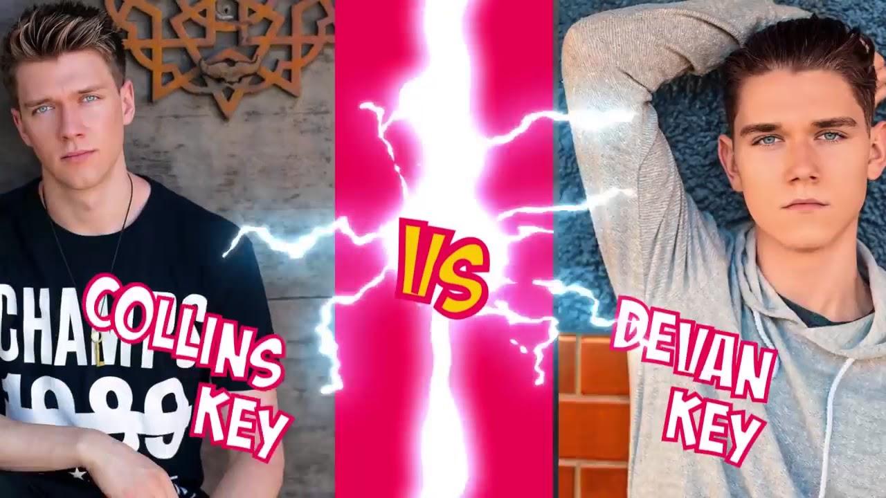 Collins key vs Devan key THE BEST MUSICAL.LY