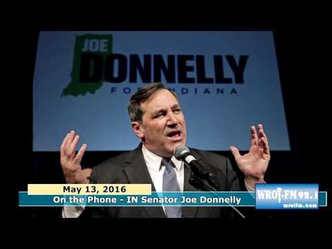WROI Phone Interview - Senator  Joe Donnelly