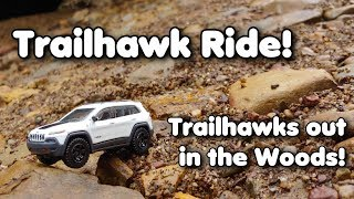 Trailhawk Ride, Blue Creek, 2019 Cherokee Trailhawk and some friends!