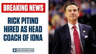 Rick Pitino RETURNS to college basketball, hired by IONA | CBS Sports HQ