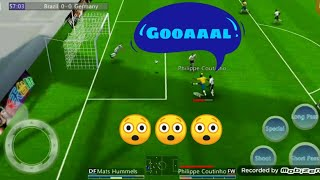 Football Androidgame Football Android Gameplay Brazil vs Germany hard match