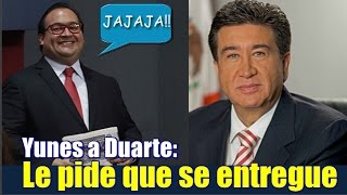 Javier, entrégate :  pide Yunes Landa a Duarte