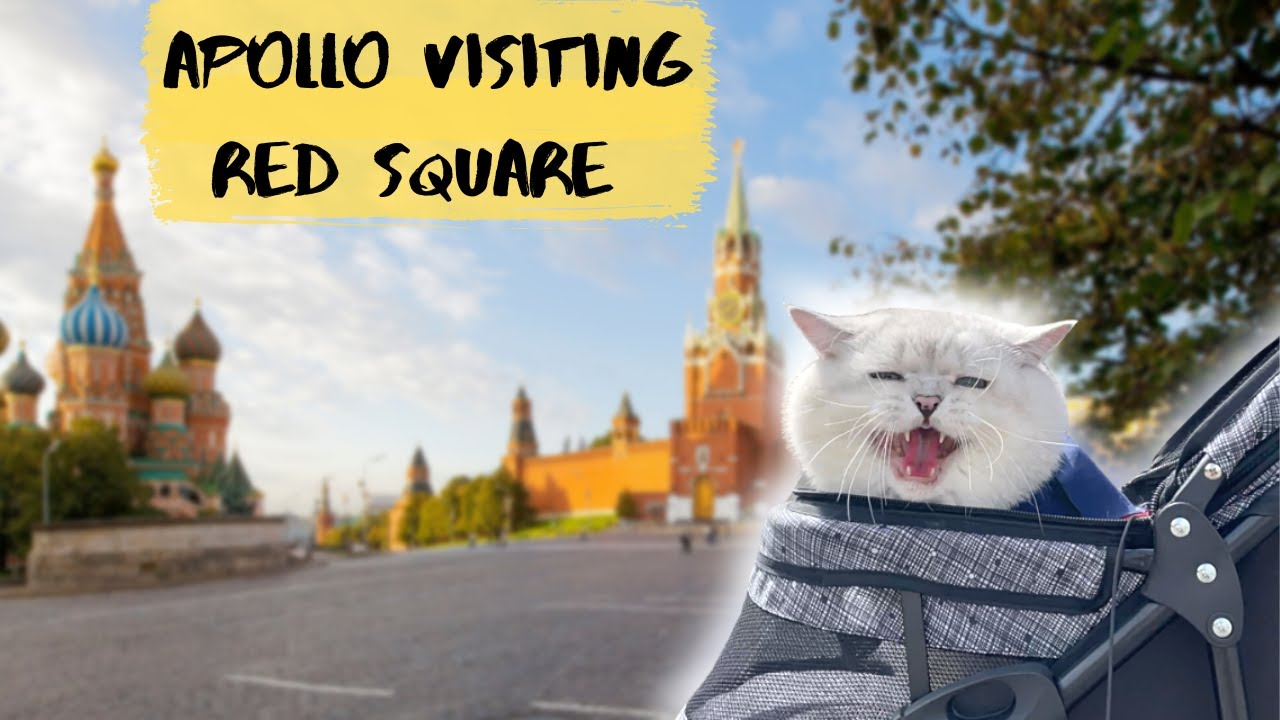 Apollo on the Red Square in Moscow