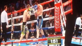 Canelo vs Smith Round 5