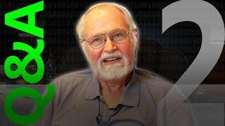 Brian Kernighan Q&A 2/3 - Computerphile