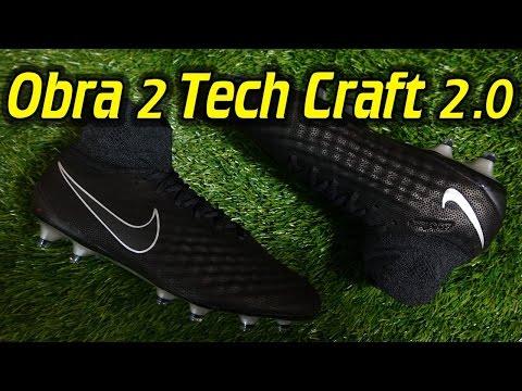 Tech Craft 2.0 Nike Magista Obra 2 (Black/Metallic Silver) - Review + On Feet