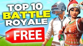 Top 10 Free Battle Royale Games! *new*  Games Like Fortnite And Pubg