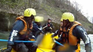 北海道ライオンアドベンチャー 5月14日 尻別川春コース シンヤボート