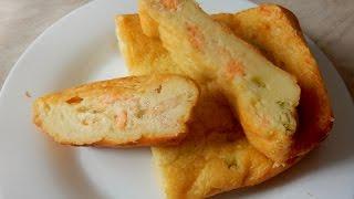 Наливной пирог с сёмгой  Быстрый пирог с рыбой  вкусный рецепт заливной пирог из брюшки сёмги