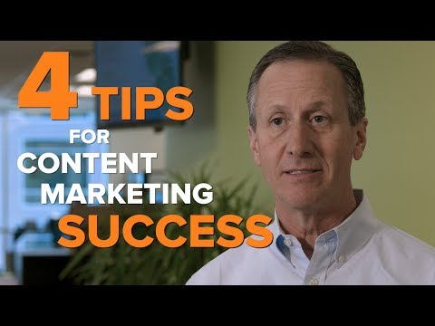 4 Tips for Content Marketing Success
