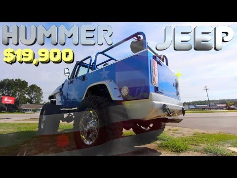 In Depth Review of the Hummer Jeep Wrangler | 4.0L w/MasterCraft Seating & Lexani Wheels | $19,900