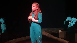 Стихи | дети | юная актриса театра | Уродливый Кот