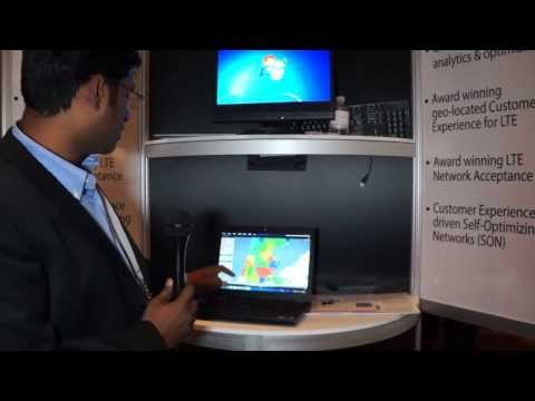 CCA Fall 2013: Actix demos RAN geolocated data with business intelligence equals SON