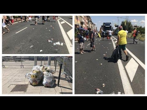 Tour De France 2019 : Mâcon, Le Grand Nettoyage Après Le Départ De La 8e étape