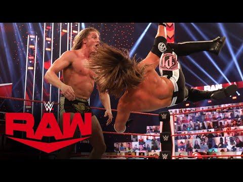 Matt Riddle vs. AJ Styles: Raw, Oct. 19, 2020