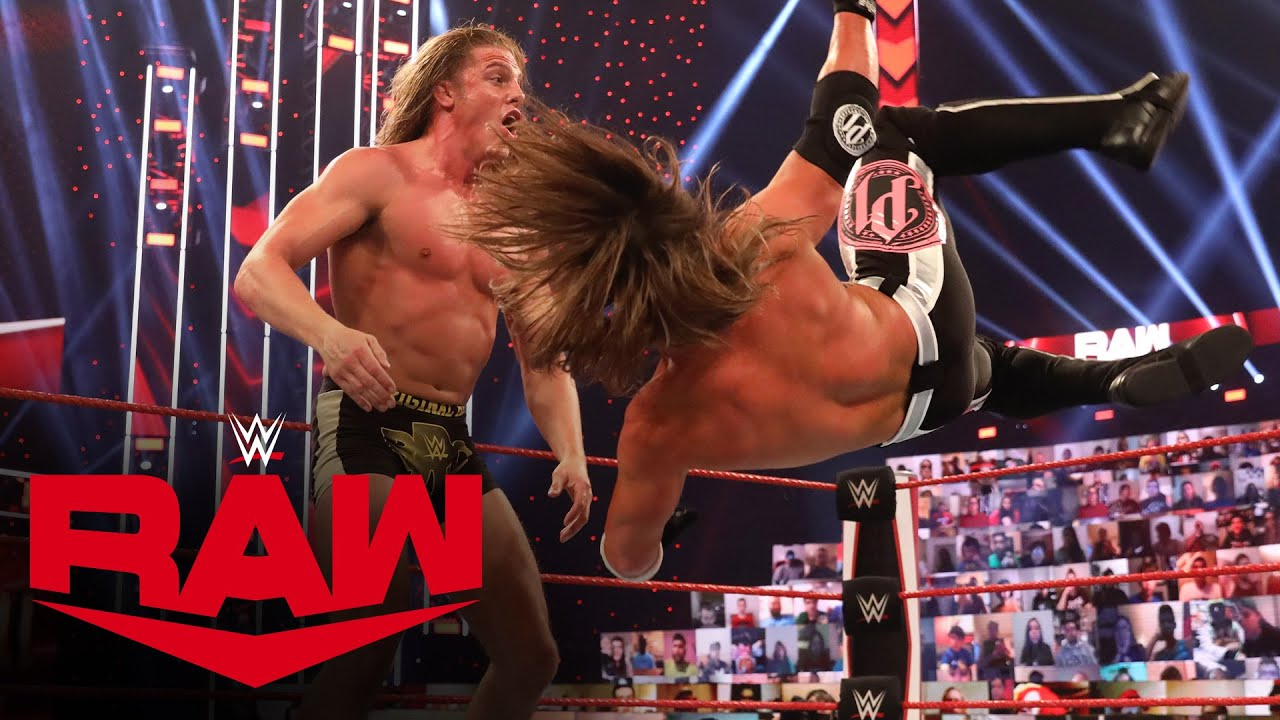 Matt Riddle vs. AJ Styles: Raw, Oct. 19, 2020