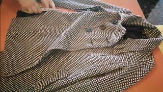 #إعادة#تدوير#ملابس#شتاء2020  إعادة تدوير   فكرة لتجديد جاكيت قديم إلى جديد وستايل مختلف حيلة رائعة