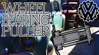 DIY Specialized Automotive Tools - VW Wheel Bearing Puller