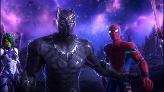Avengers Vs Thanos Full Fight Scene II SuperBoy Ted II