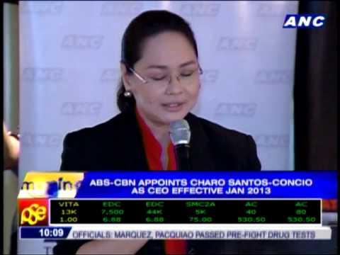 ABS-CBN appoints Charo Santos-Concio as new CEO