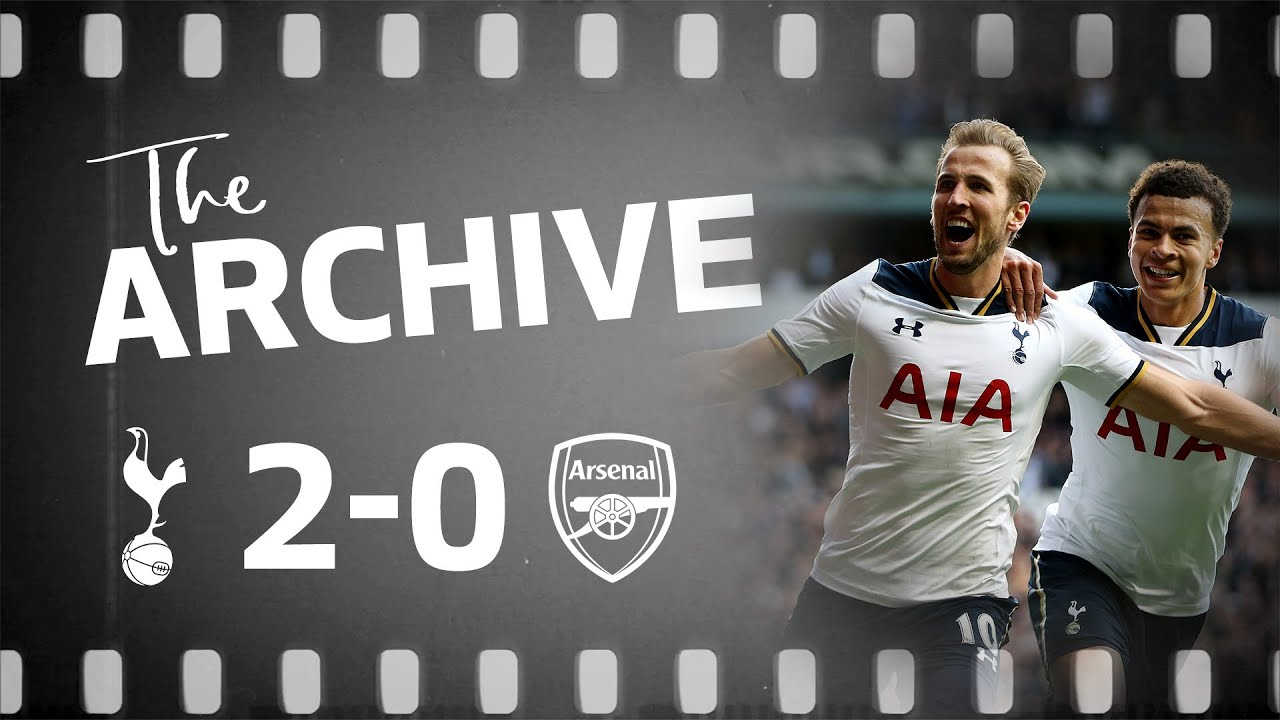 SPURS 2-0 ARSENAL | Dele & Kane goals win the final north London derby at White Hart Lane!