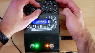 Two notes Audio Engineering - Le Bass STRAIGHT INTO THE DAW