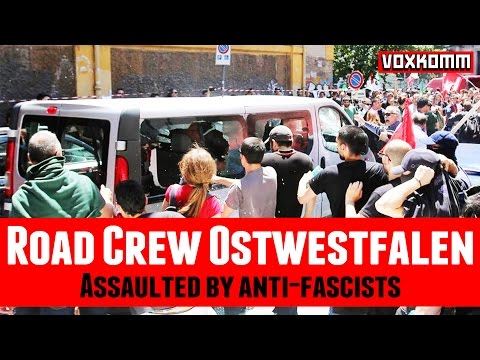 Road Crew Ostwestfalen: Assaulted by anti-fascists