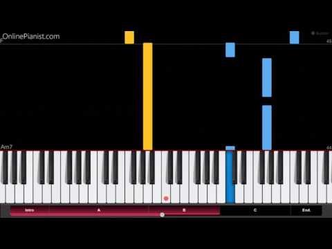 Kimi no na wa OST - Kataware doki - Easy Piano Tutorial - かたわれ時