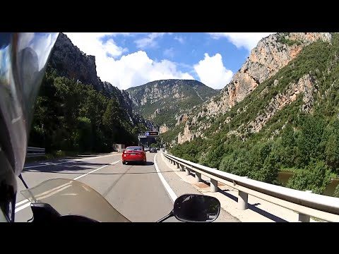 Pyrenees / Andorra - Tarragona - Barcelona / Europe motorcycle trip part 5
