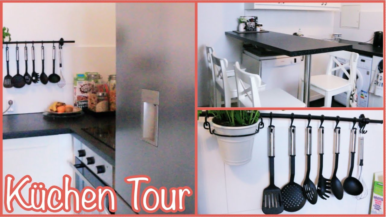 k chen tour ikea k chen erfahrung kisushomediary youtube. Black Bedroom Furniture Sets. Home Design Ideas
