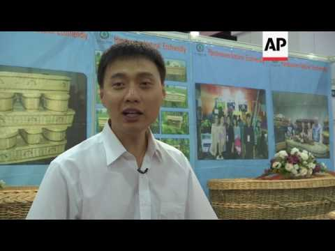 Eco Asian funerals at Hong Kong trade fair
