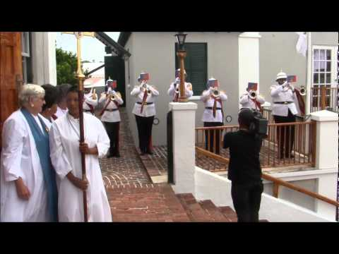 Jubilee Fanfare Bermuda Regiment June 3 2012