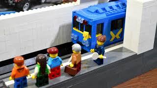 видео про как сделать из лего метро 2033