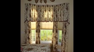 How To Cut A Multiple Scalloped Valance