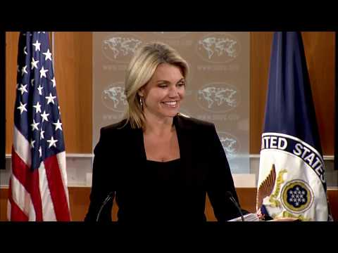 WATCH: Heather Nauert Department Press Briefing on President Donald Trump News - September 12, 2017