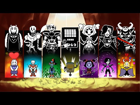 Undertale: All Main Boss Battle Themes (Pacifist, Genocide, Final Bosses)