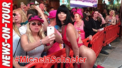 Micaela Schaefer Baywatch Outfit! Red Carpet @Megapark Opening 2017 Pamela Andersson Style