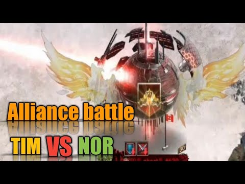 Last Empire War.z Alliance Battle TIM VS NOR