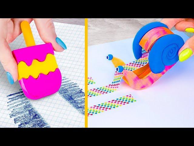 10 DIY อุปกรณ์การเรียนภาคฤดูร้อนแปลก ๆ ที่คุณต้องลอง / เอากลับไปเล่นแผลง ๆ ในโรงเรียน!