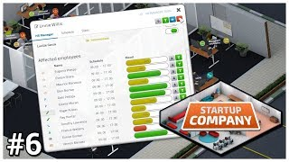 Startup company [early access] - #6 hr department let's play / gameplay construction