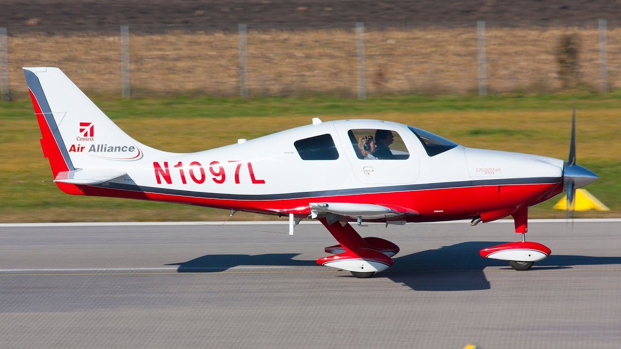 Cessna 350 Corvalis   Take off - Turn up the speakers!! - YouTube