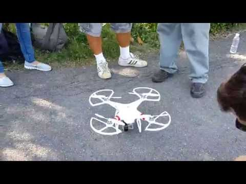 Ajarn Dorn's new drone - SAE Institute Thailand - at Bangkajao Park