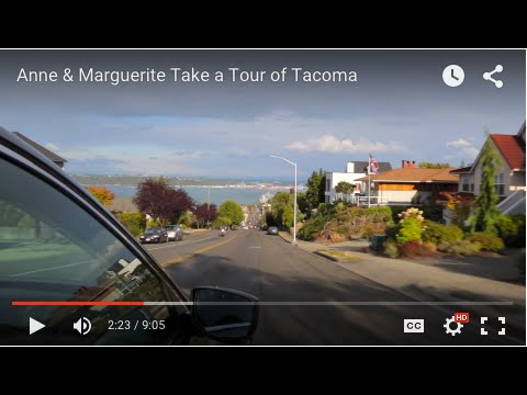 Anne & Marguerite Take a Tour of Tacoma